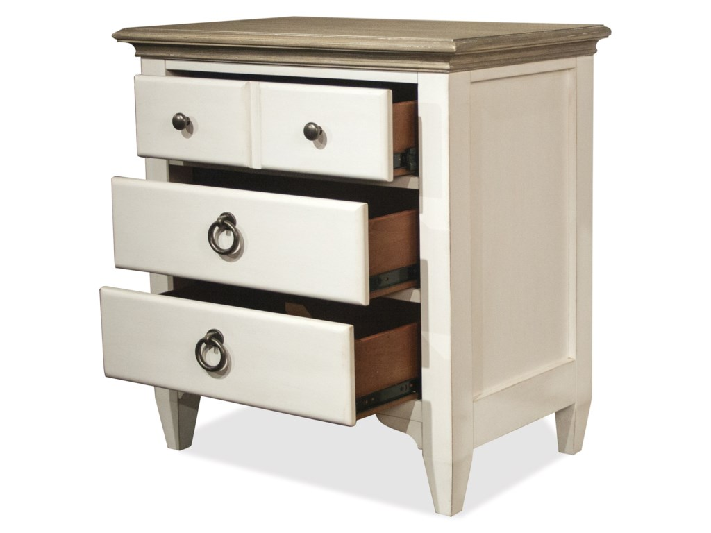 Riverside Furniture Myra3-Drawer Nightstand