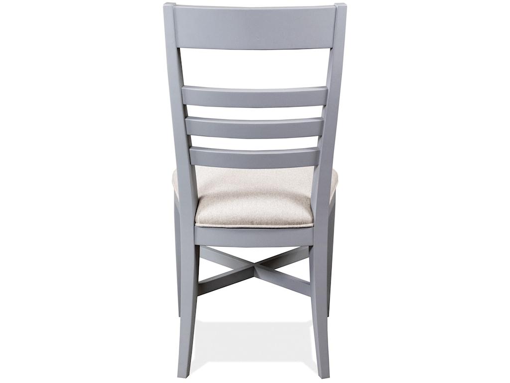 Riverside Furniture OsborneUpholstered Ladder Back Chair