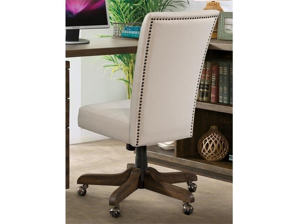 Riverside Furniture PerspectivesUpholstered Back Desk Chair