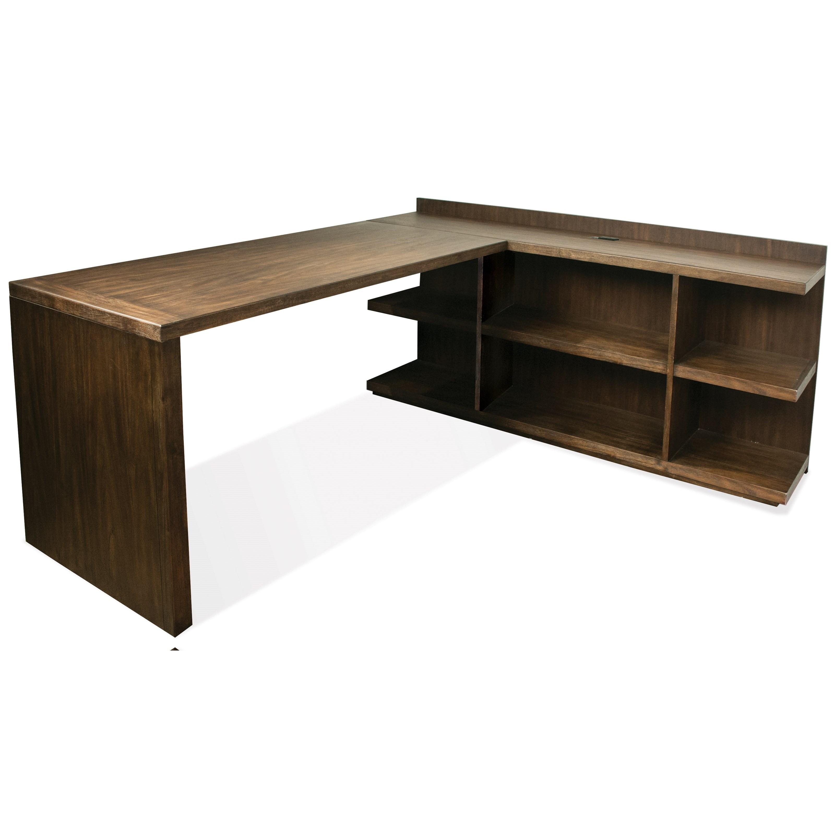 Riverside Furniture PerspectivesL Shape Desk ...