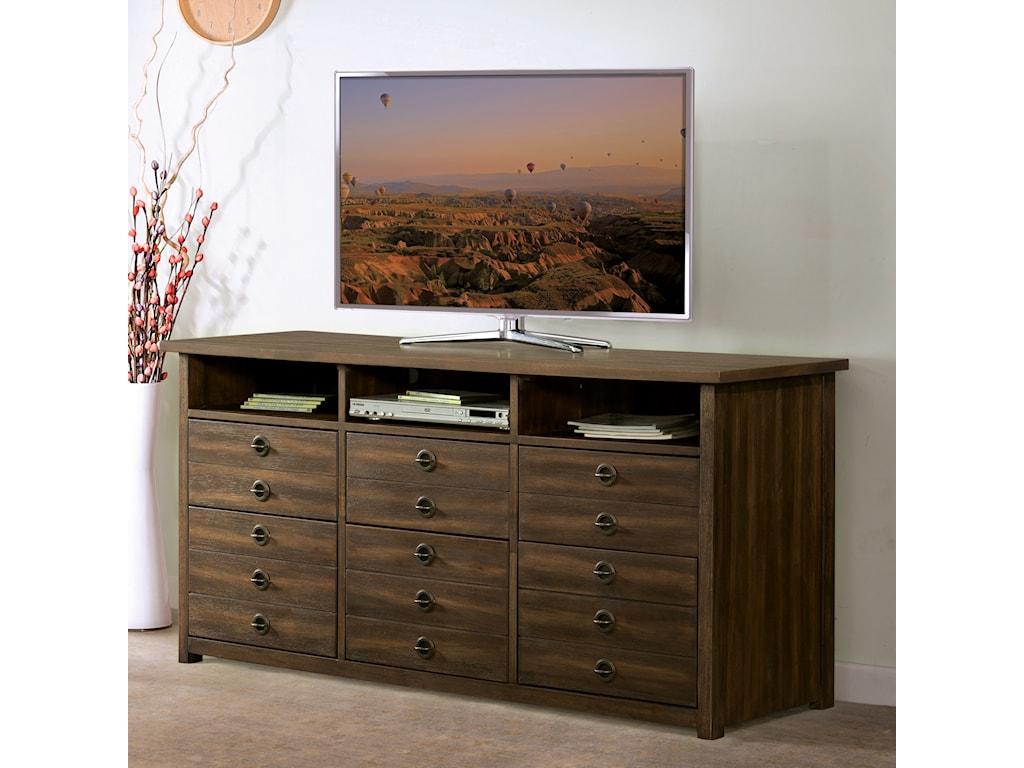 Riverside Furniture PerspectivesEntertanment File Cabinet