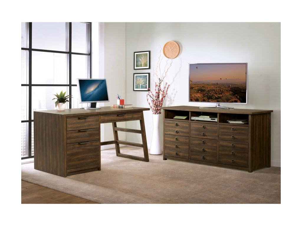 Riverside Furniture PerspectivesEntertanment File Cabinet