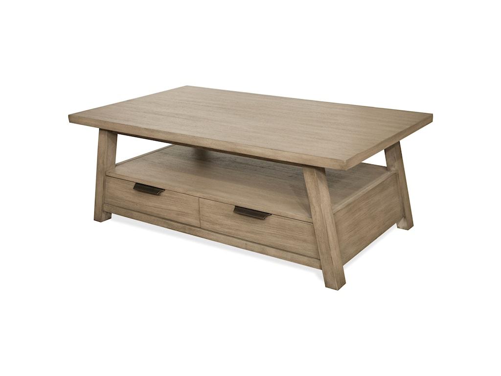 Riverside Furniture PerspectivesLarge Cocktail Table