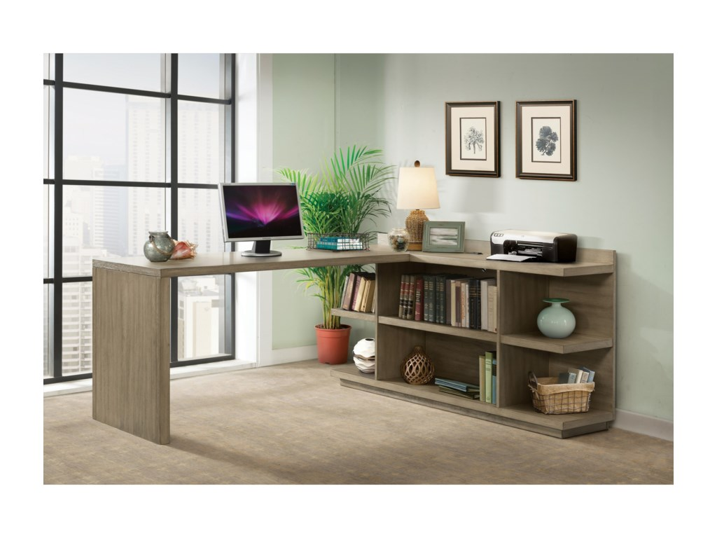 Riverside Furniture PerspectivesL Shape Desk