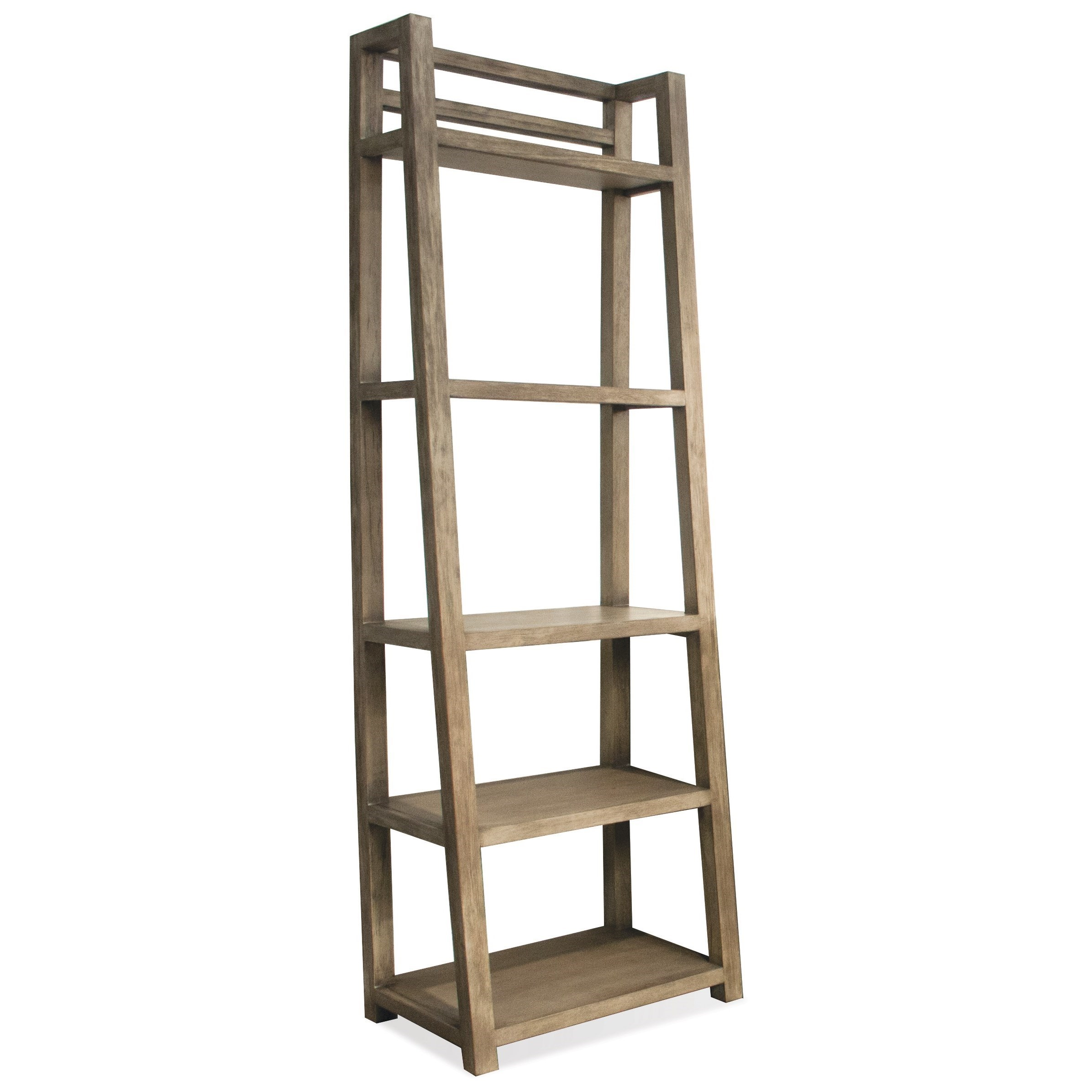 Etonnant Riverside Furniture Perspectives Leaning Bookcase With 5 Shelves