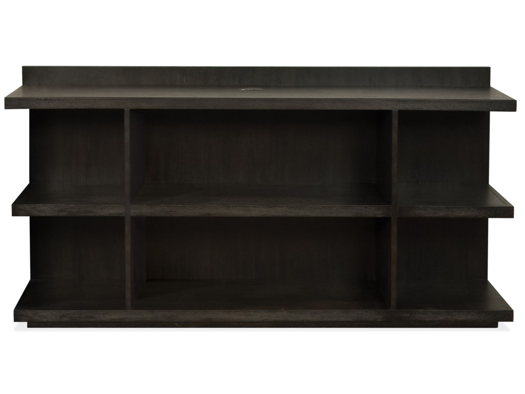 Riverside Furniture PerspectivesPeninsula Bookcase Desk