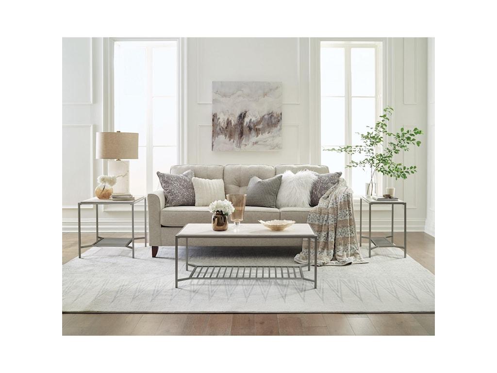 Riverside Furniture PinnacleRectangle End Table