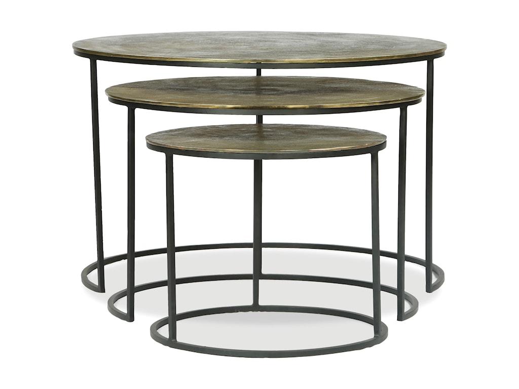 Riverside Furniture PortiaNesting Coffee Tables
