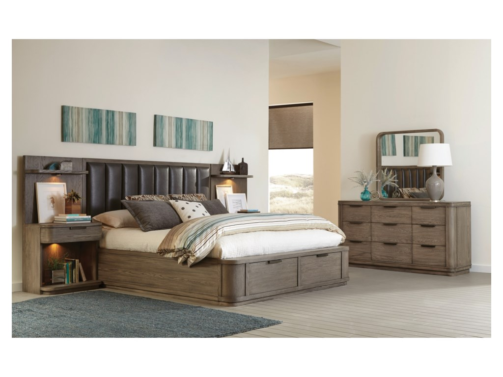 Riverside Furniture PrecisionKing Bedroom Group