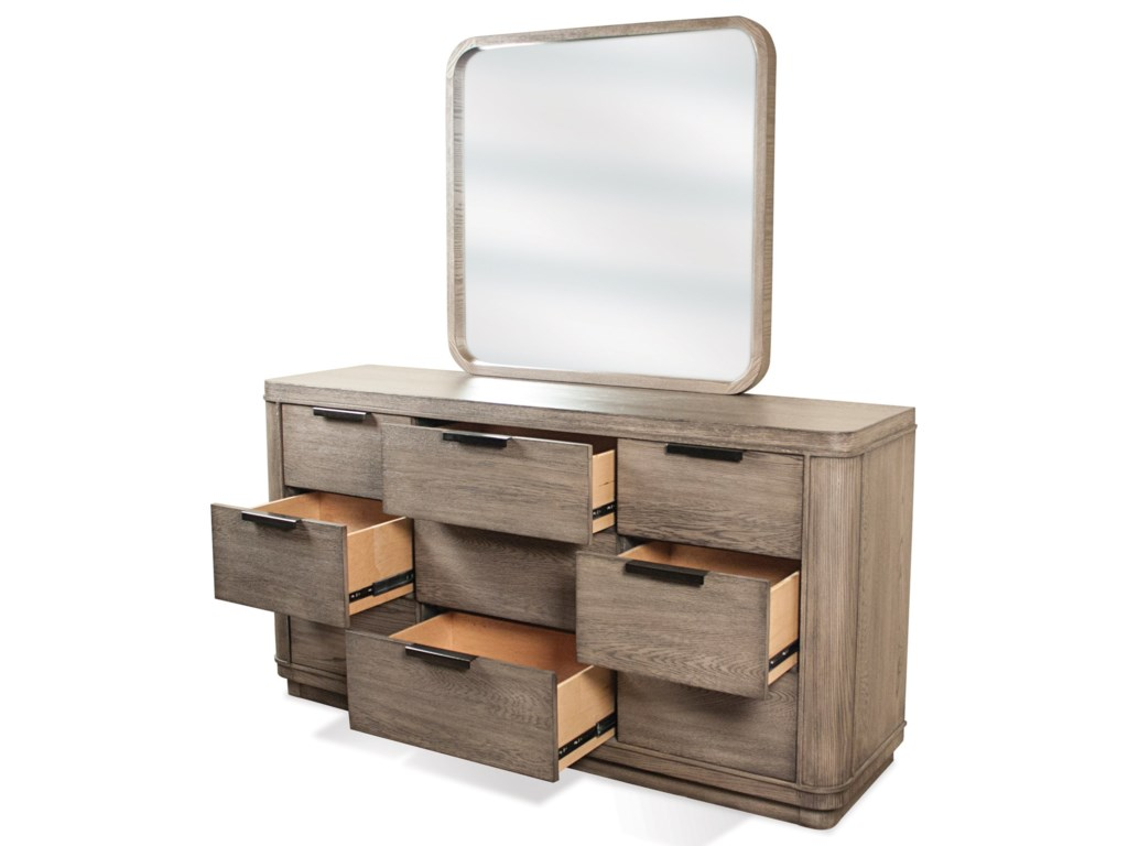 Riverside Furniture Precision9 Drawer Dresser
