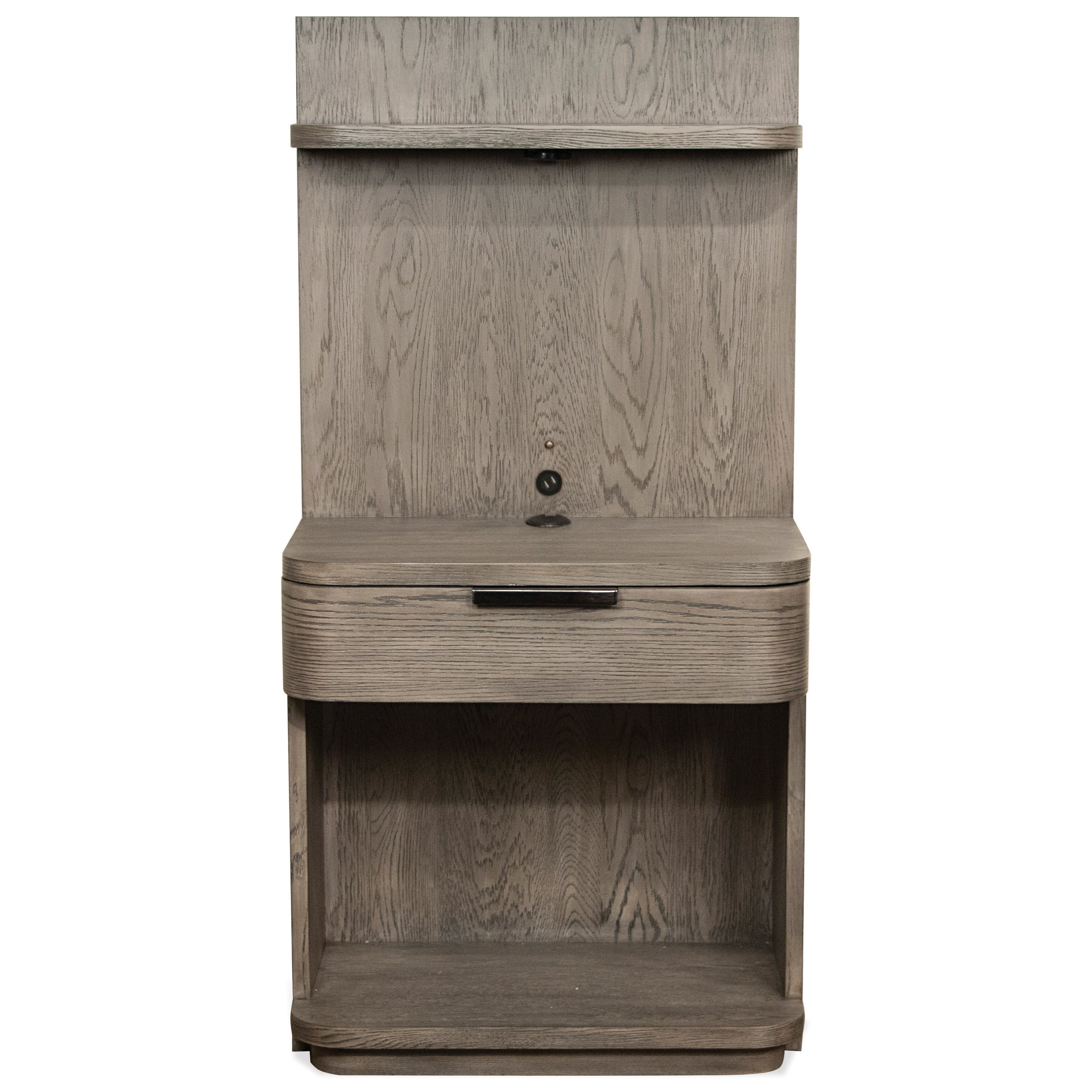 Riverside Furniture PrecisionLow Pier Nightstand ...