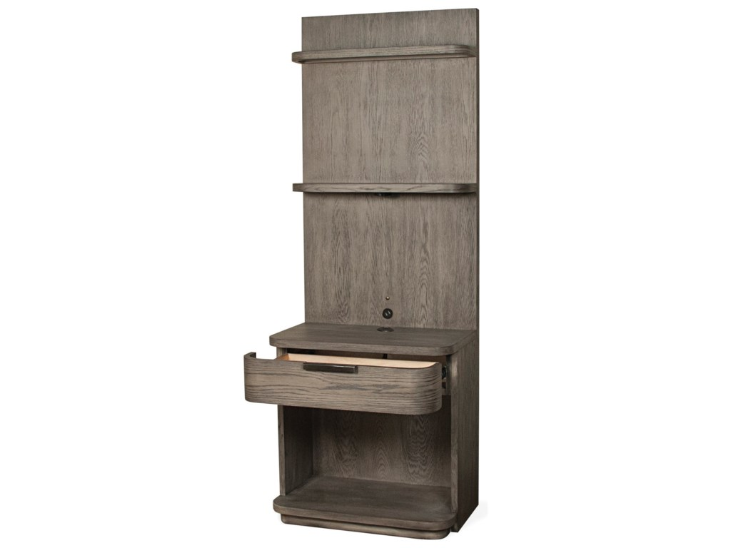 Riverside Furniture PrecisionTall Pier Nightstand
