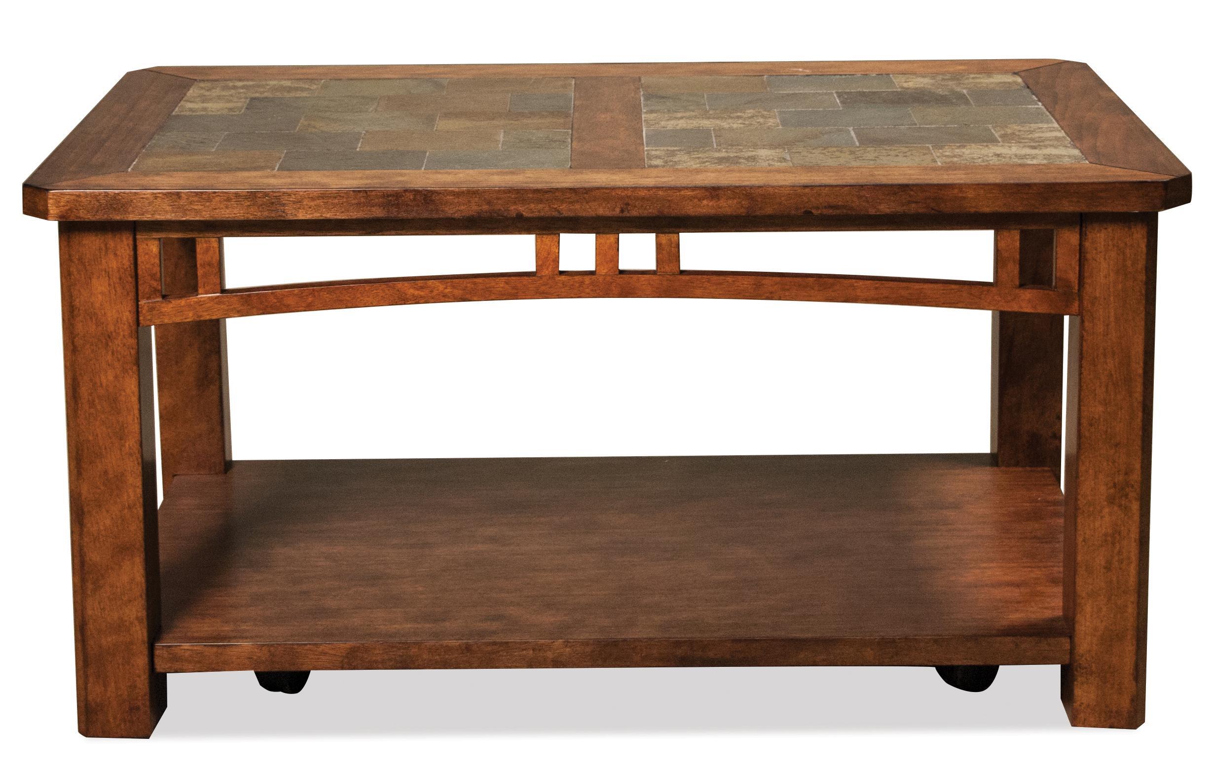 Riverside Furniture Preston Coffee Table W/ Casters