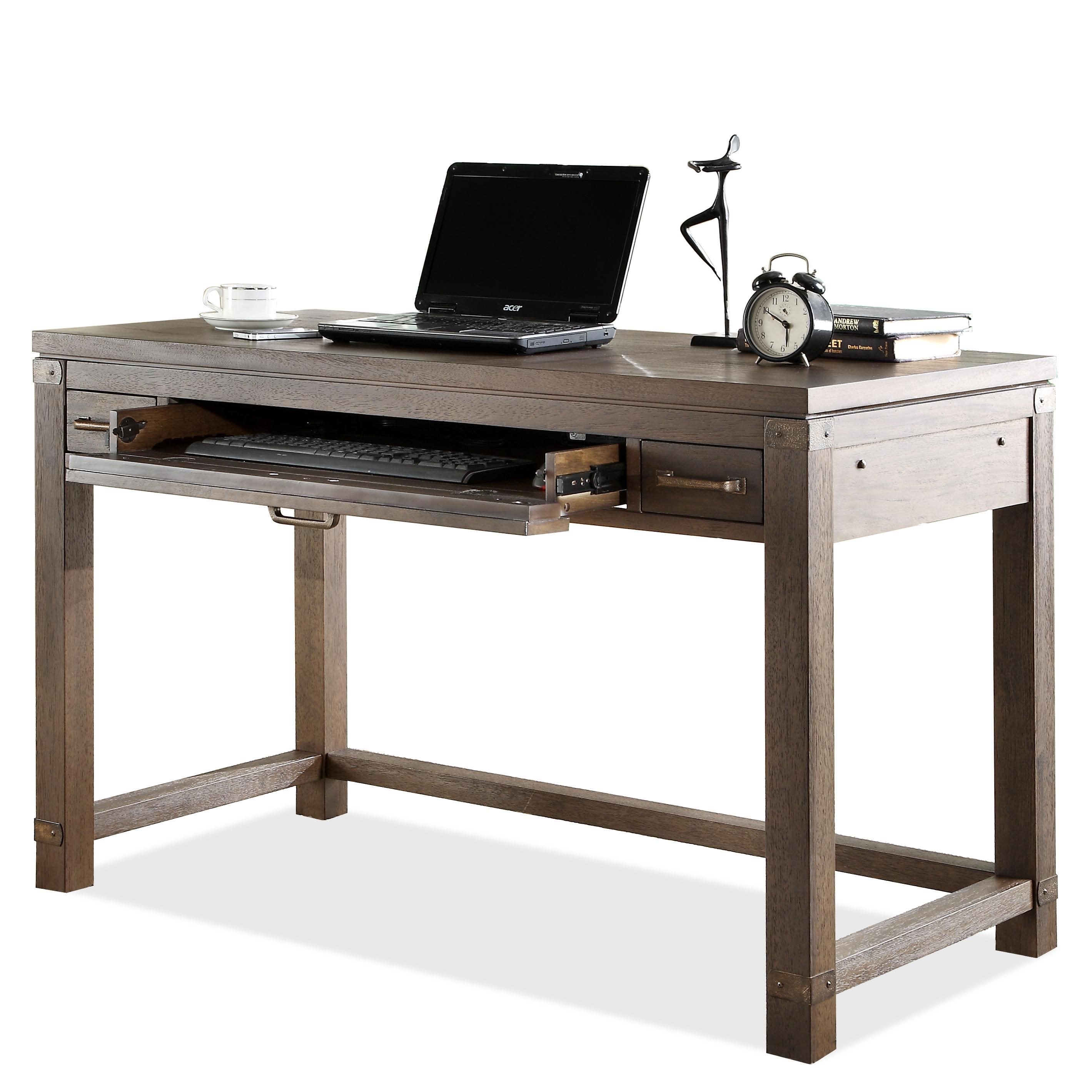 Riverside Furniture Promenade Writing Desk With Pull Out Drawer