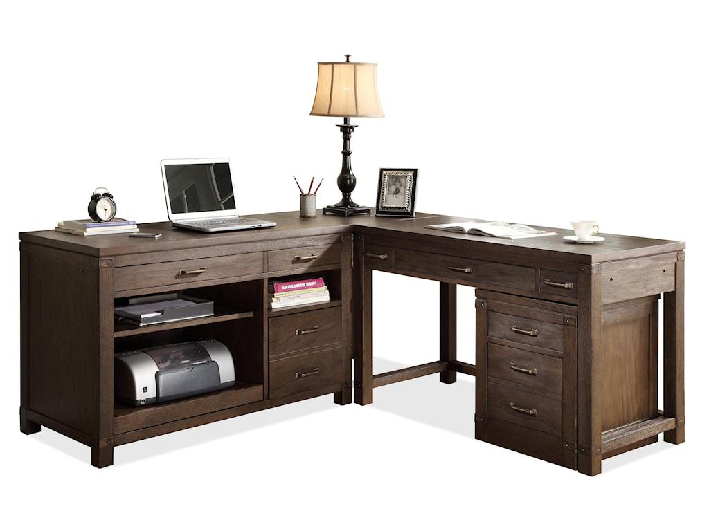 Shown Under Desk