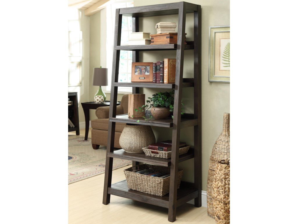 Riverside Furniture Promenade Canted Bookcase
