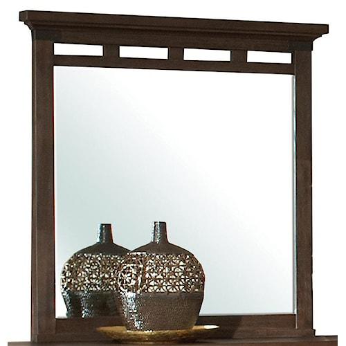 Riverside Furniture Promenade  Panel Dresser Mirror