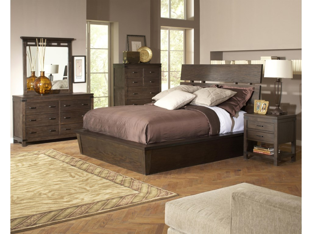 Shown with Chest, Bed & Nightstand