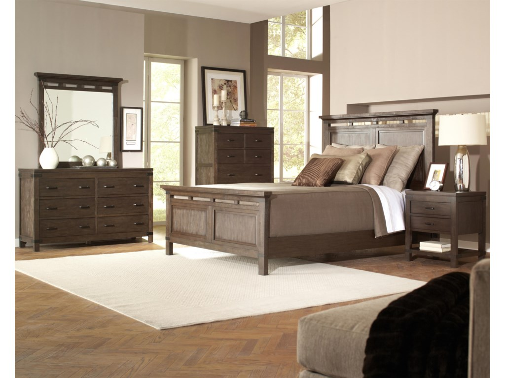 Shown with Dresser, Mirror, Bed & Nightstand