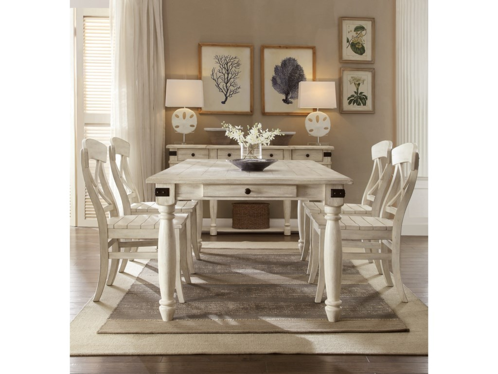 Riverside Furniture Regan Casual Dining Room Group