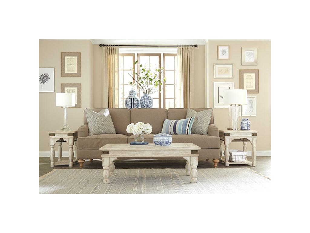 Riverside Furniture ReganChairside Table