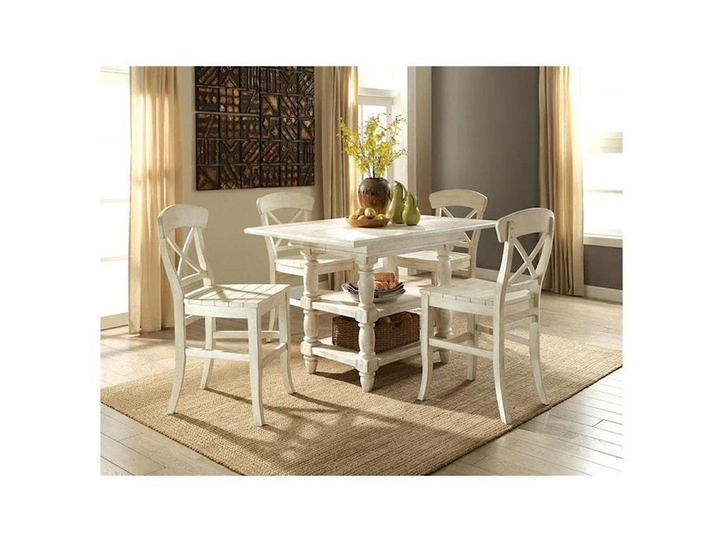 Riverside Furniture ReganCounter Height Dining Table