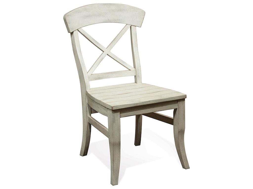 Riverside Furniture ReganX-Back Dining Side Chair