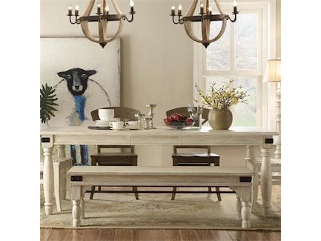 Regan Bench by Riverside Furniture at Furniture Fair - North Carolina