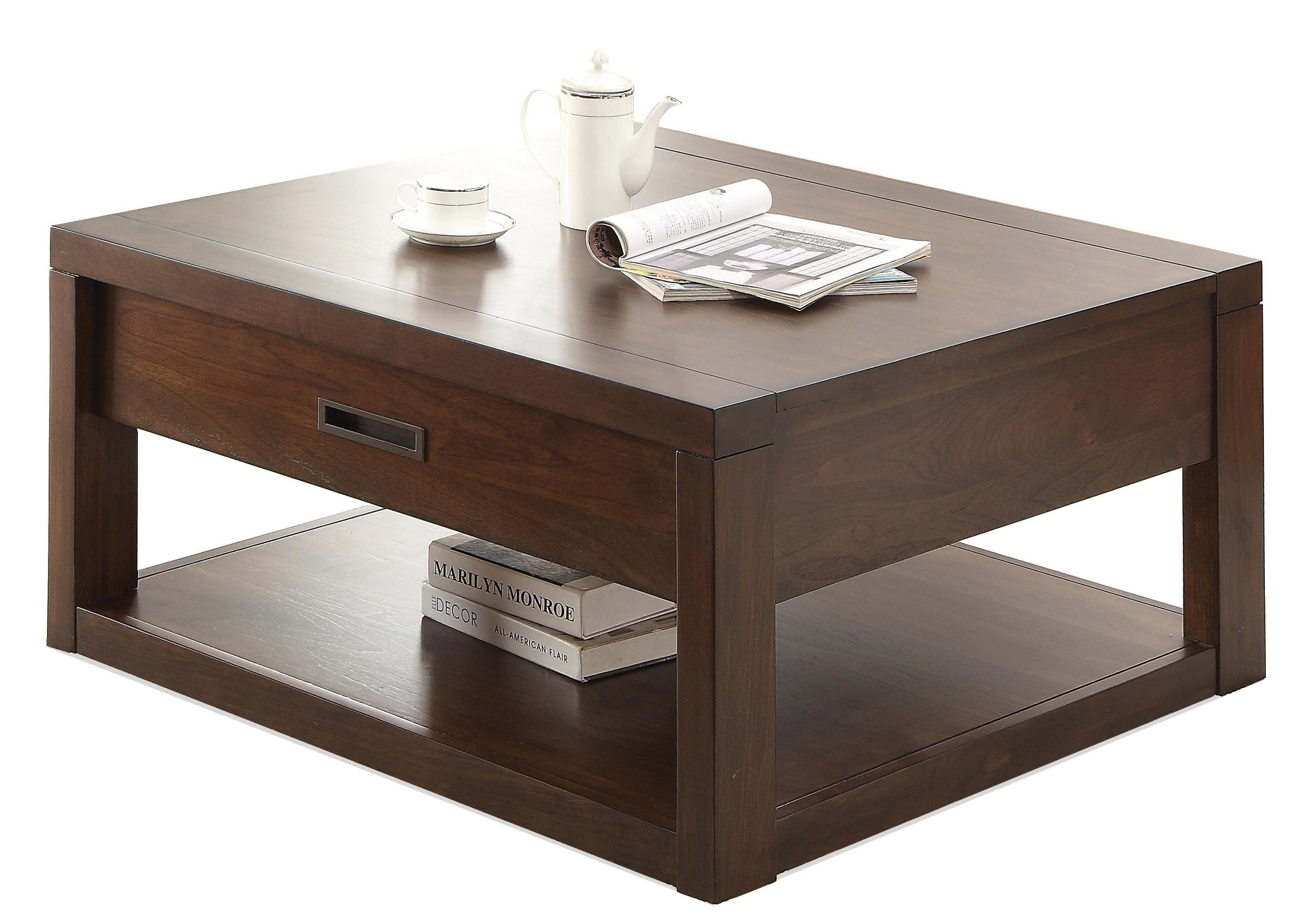 Riverside Furniture Riata Square Cocktail Table W/ Casters