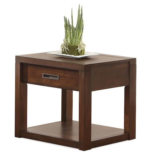 Riverside Furniture Riata End Table w/ Drawer