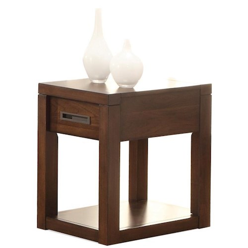 Riverside Furniture Riata Petite Chairside Table