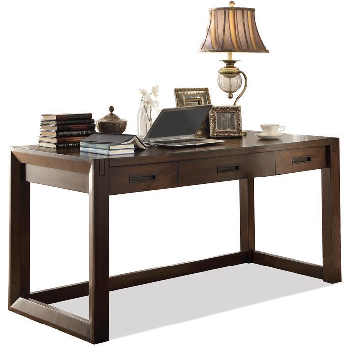 Riverside Furniture Riata Contemporary Writing Desk   Pedigo Furniture    Table Desks/Writing Desks