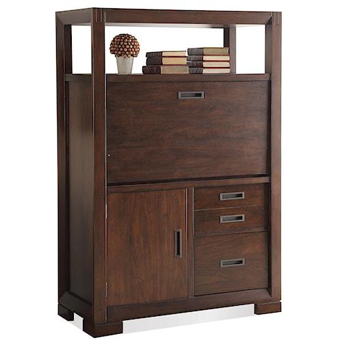 Riverside Furniture Riata Computer Armoire w/ Drop Front