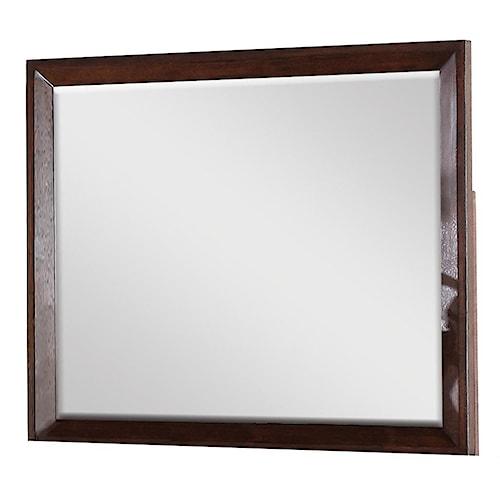 Riverside Furniture Riata Mirror w/ Beveled Wood Frame