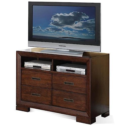 Riverside Furniture Riata Contemporary Media Chest