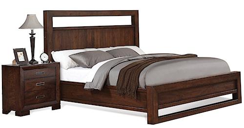 Riverside Furniture Riata King Panel Bed