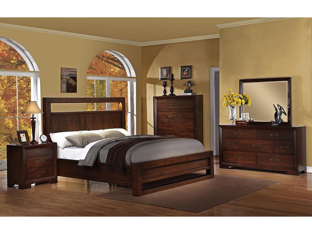 Riverside Furniture RiataKing Panel Bed