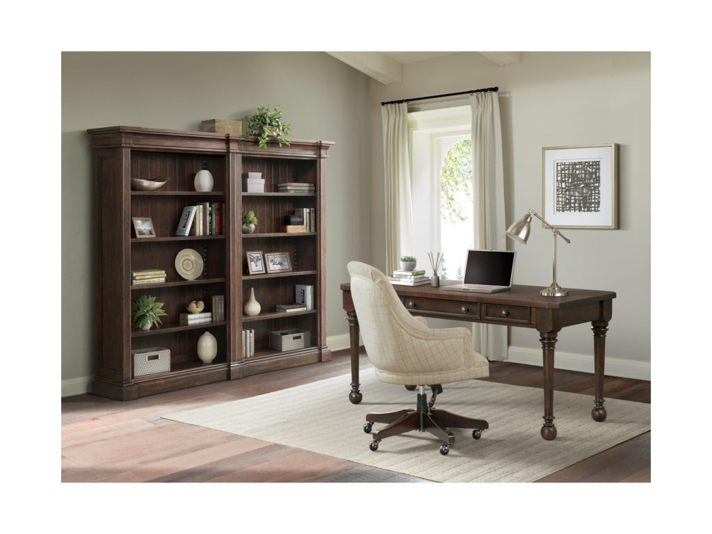 Riverside Furniture RosemoorBunching Open Bookcase