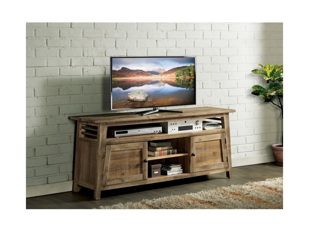 Riverside Furniture Rowan66-Inch TV Console