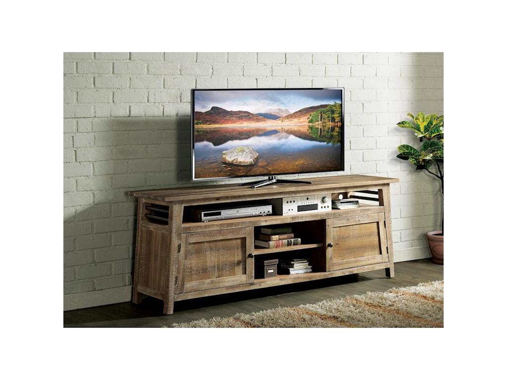 Riverside Furniture Rowan76-Inch TV Console