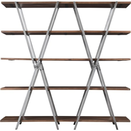 Double-X Bookcase