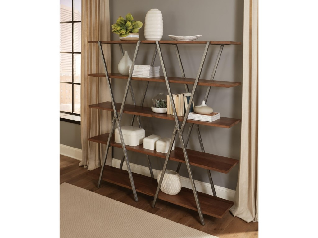 Riverside Furniture RyderDouble-X Bookcase