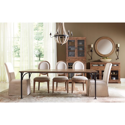 Riverside Furniture Sherborne Formal Dining Room Group 1