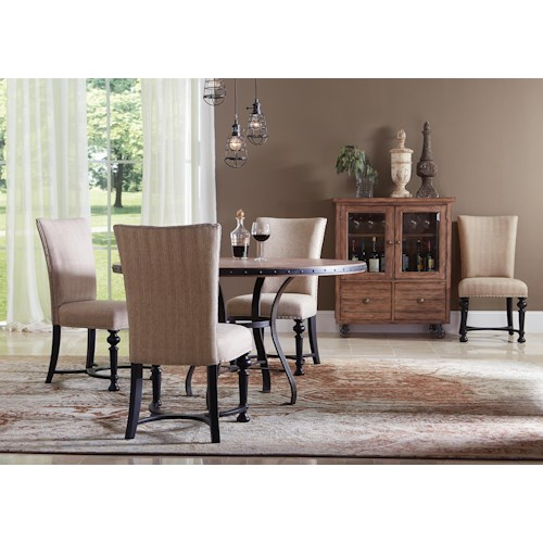 Riverside Furniture Sherborne Casual Dining Room Group 1