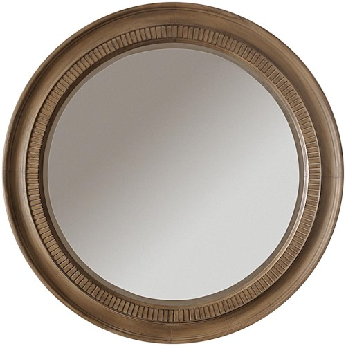 Riverside Furniture Sherborne Round Accent Wall Mirror
