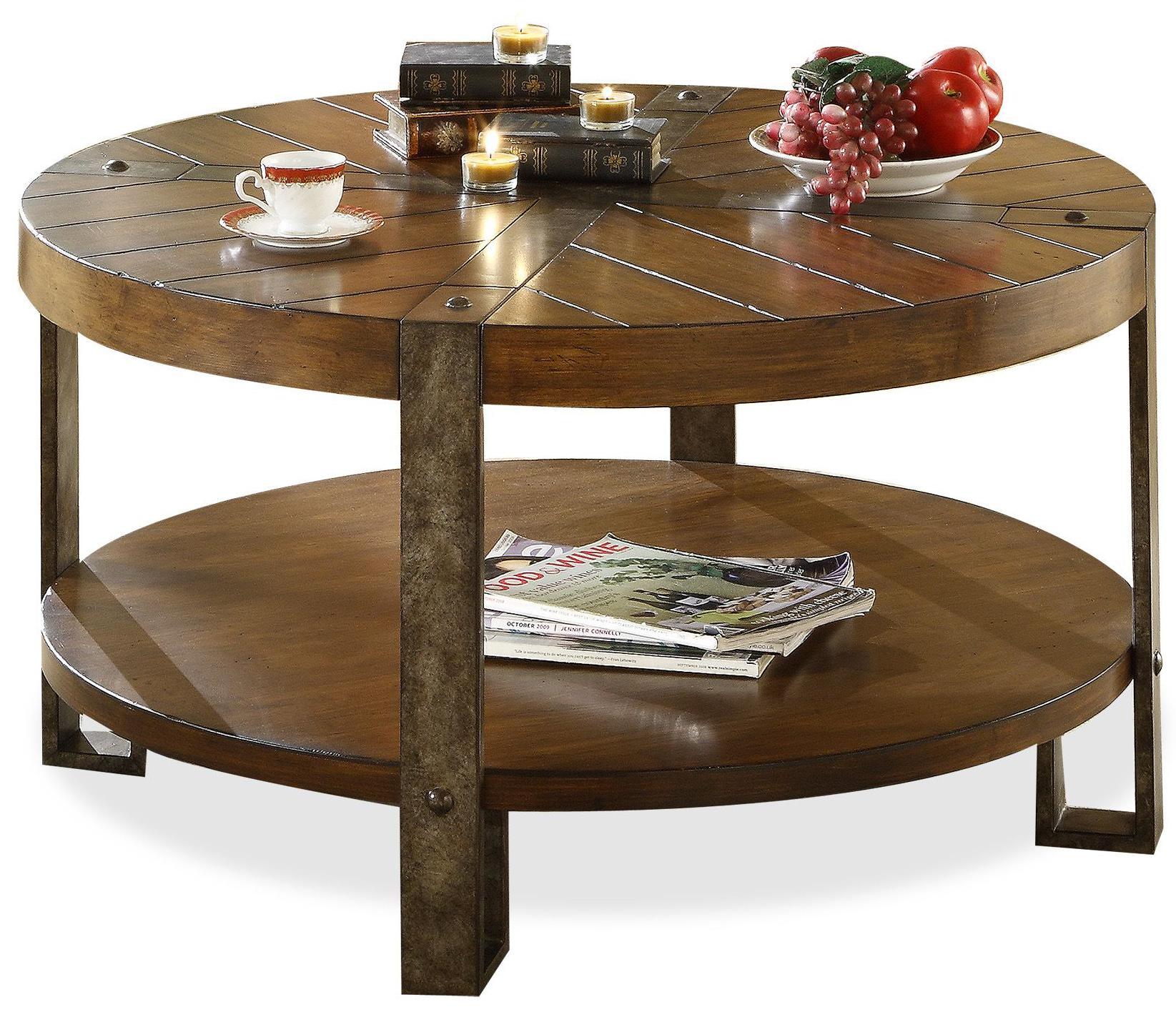 Riverside Furniture SierraSierra Round Coffee Table ...