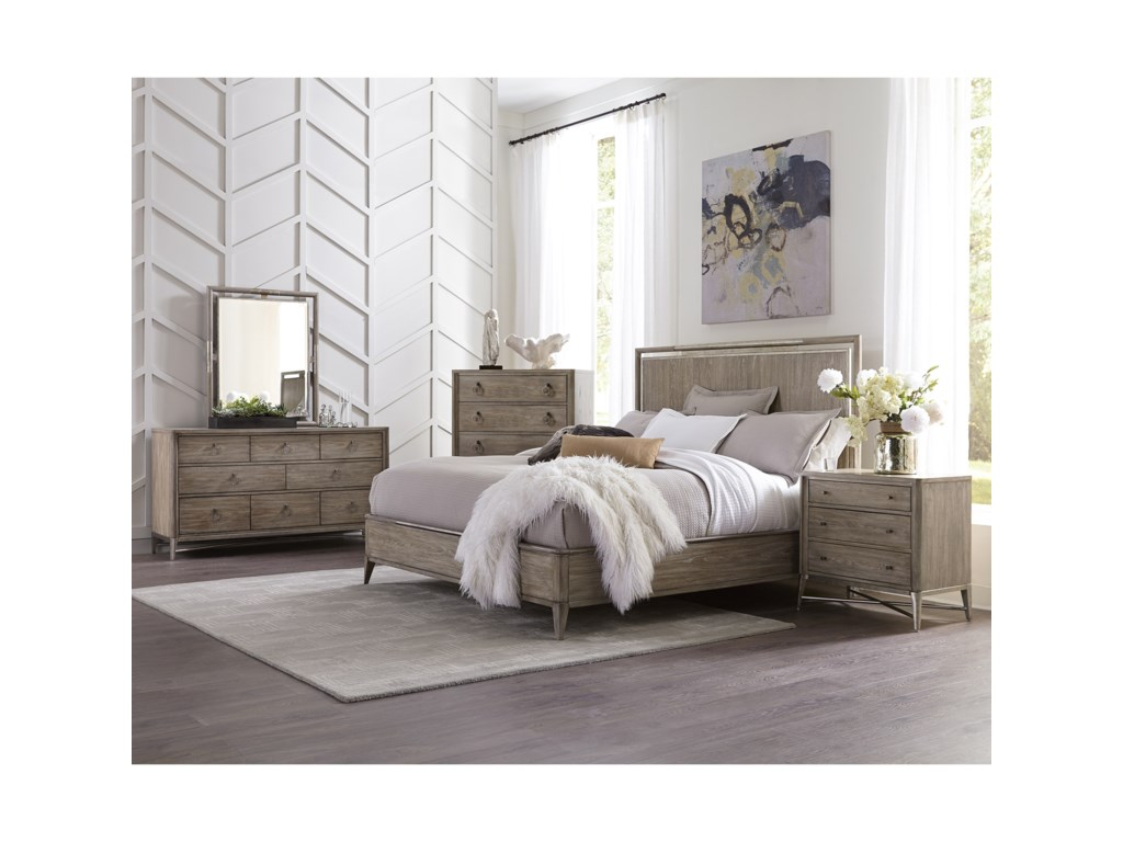Riverside Furniture SophieKing Bedroom Group