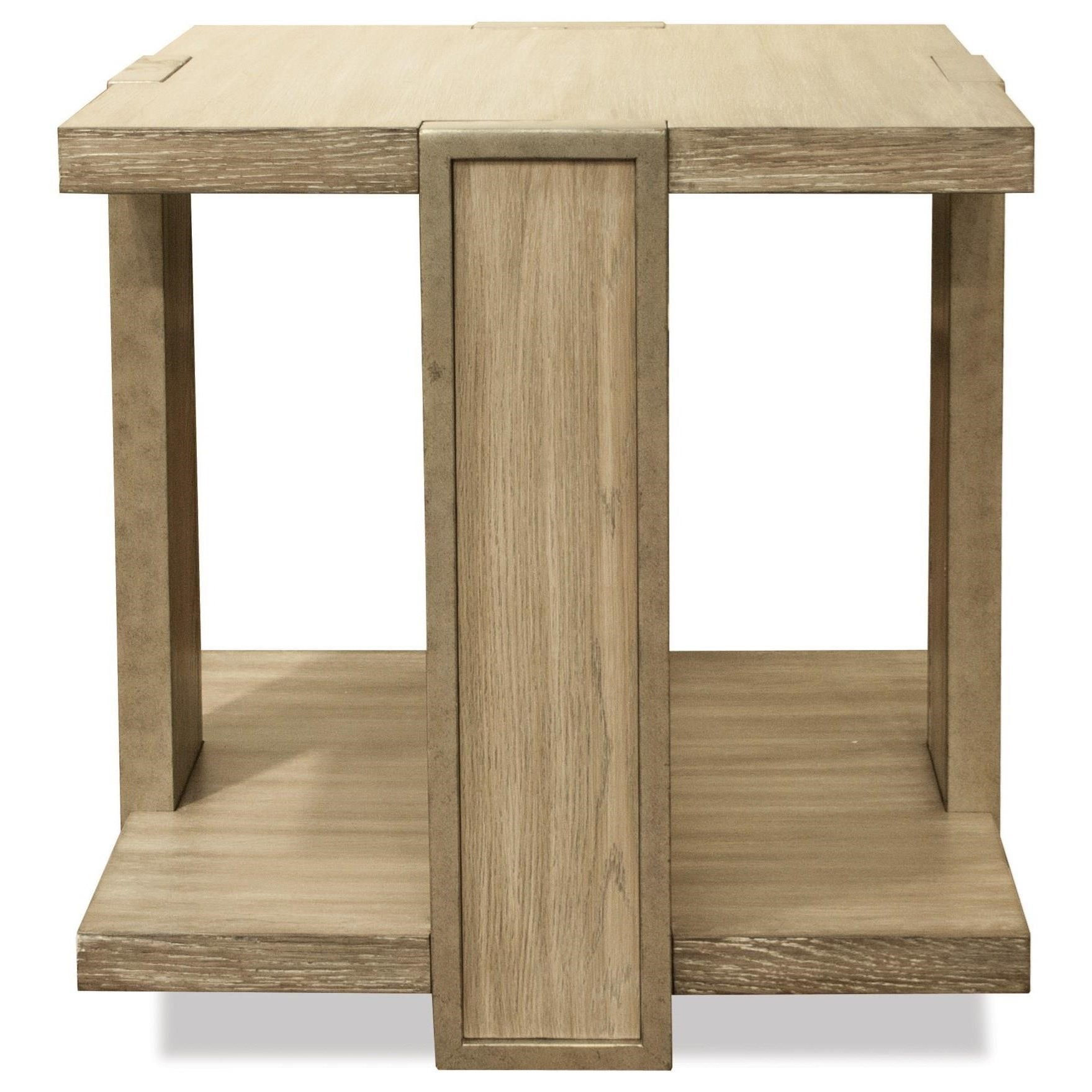Riverside Furniture SophieSquare End Table ...