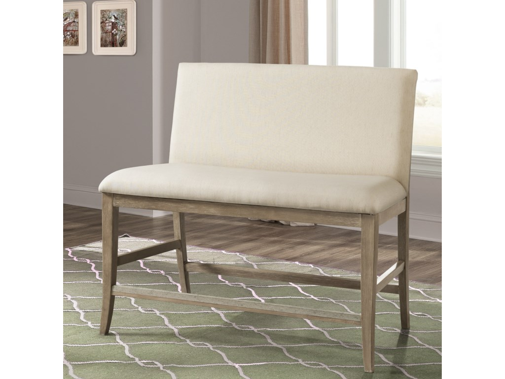 Riverside Furniture SophieUpholstered Counter Stool Bench