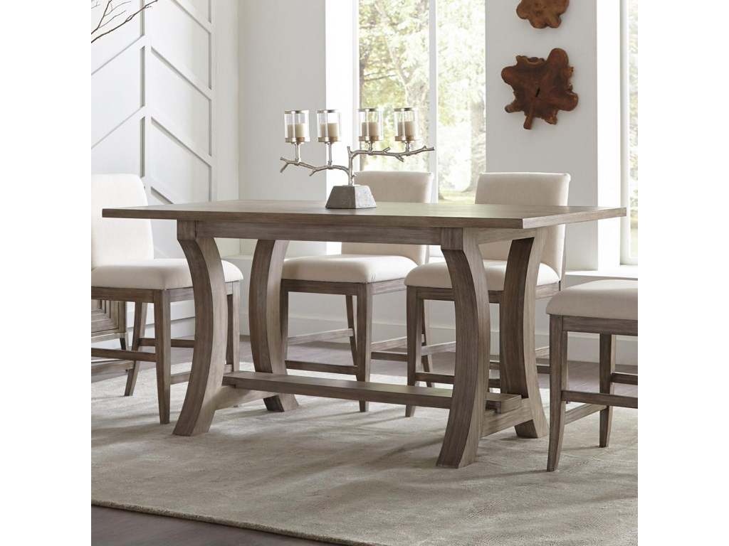 Riverside Furniture Sophie76-Inch Counter Height Table
